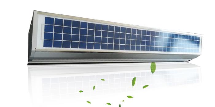 通风器,太阳能窗式智能新风净化器  ZCPM-301S